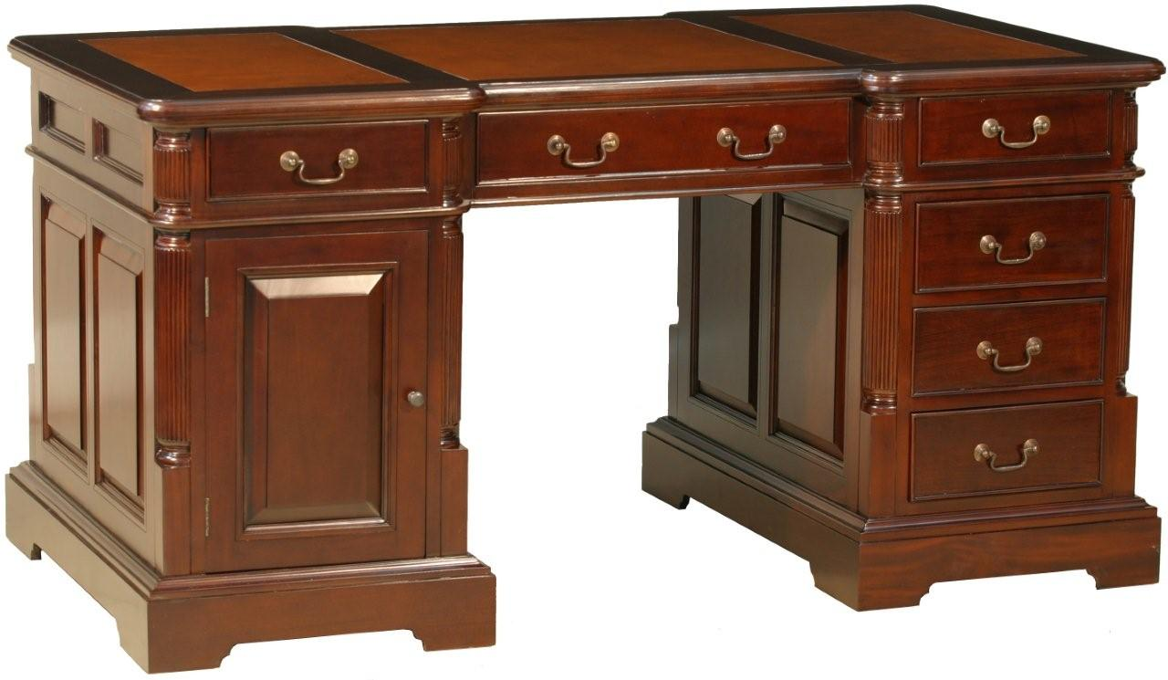 Innovative Amish Home Office Bentley Partners Double Desk